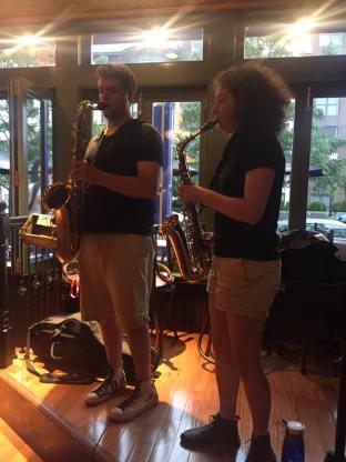 Sam Squared Sax Duo
